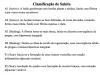 Classificação de Sakita
