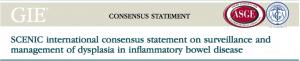 Consenso internacional sobre o rastreamento e manejo de displasia na doença inflamatória intestinal