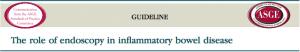 Papel da endoscopia no manejo da doença inflamatória intestinal