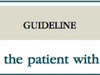 DIRETRIZES – Papel da endoscopia no paciente com sangramento gastrointestinal baixo