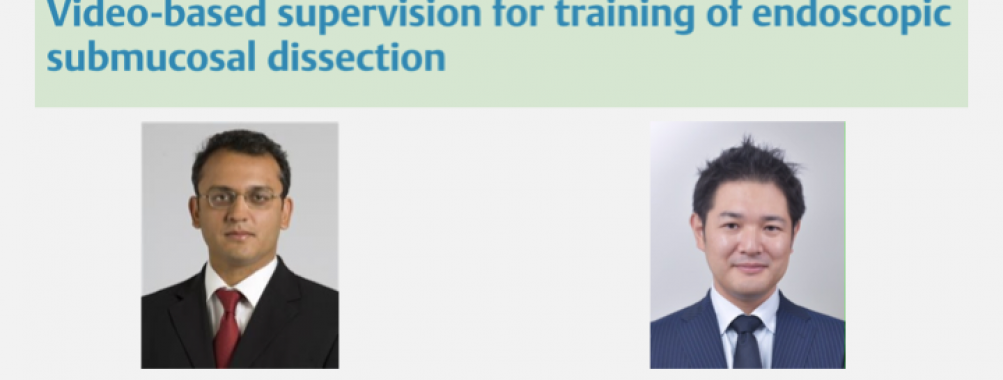 Video-based supervision for training of endoscopic submucosal dissection