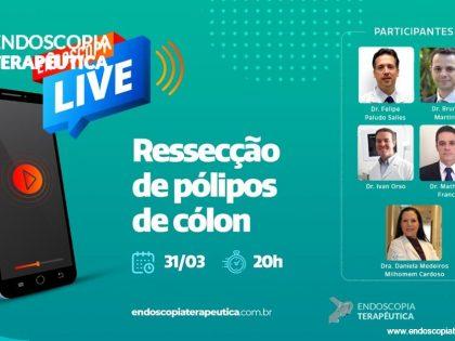 Revisão da Live Ressecção de pólipos de cólon. Não viu? Clica aí !!